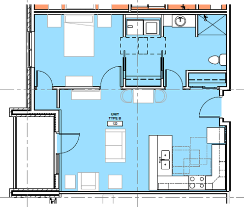 KP floor plan B