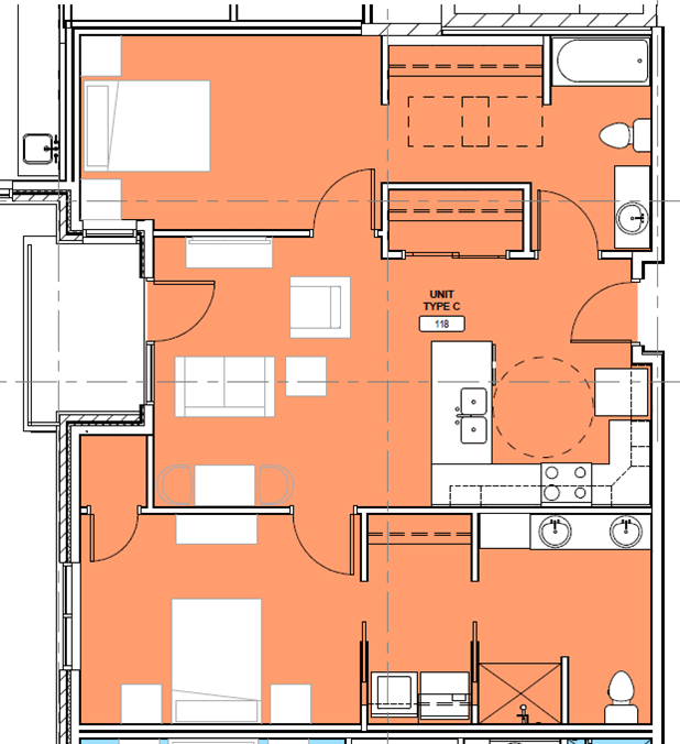 KP floor plan C