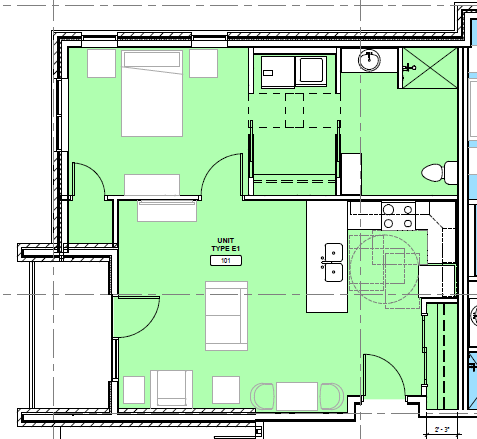 KP floor plan E1