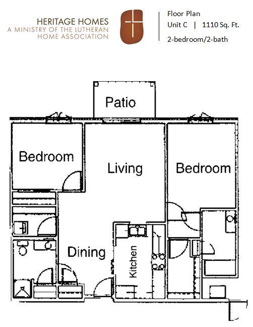 HH IL floor plan C