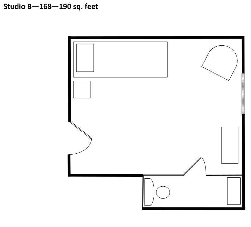 SMAL Studio B Floorplan